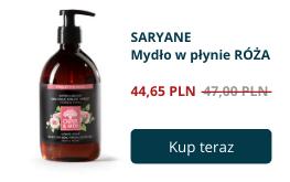Różane mydło w płynie